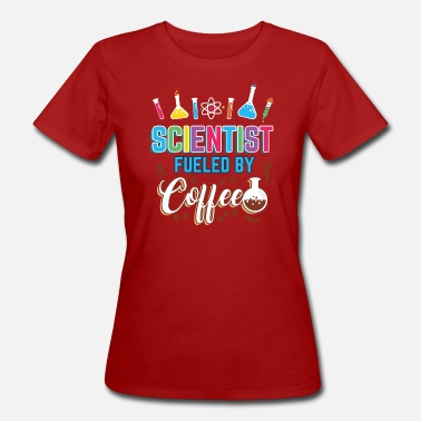 Coffee Chemist Biology Lab Assistant Laboratory Engineer - Women's Organic T-Shirt