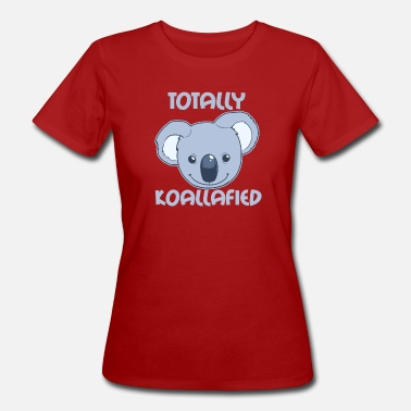 TotallyKoalafied - Ekologisk T-shirt dam