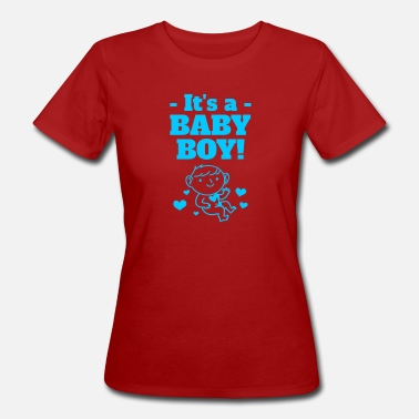 Baby Clothes Baby announcement baby shower gift outfit boy - Women's Organic T-Shirt