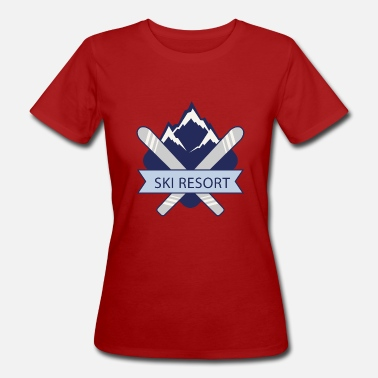 Ski Resort Ski Resort - Women's Organic T-Shirt