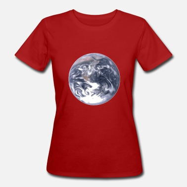 Planet Earth Earth Universe Blue planet - Women's Organic T-Shirt
