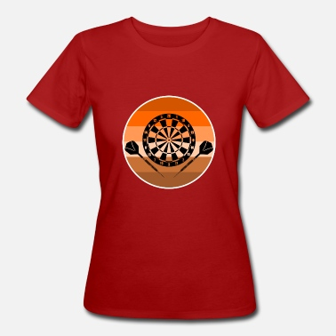London Darts dart - Women's Organic T-Shirt