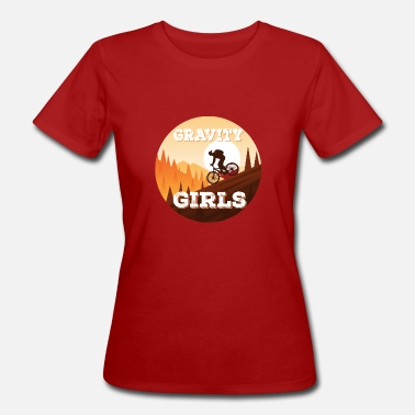 Mountains Clothes Gravity Girls Clothing Co - Women's Organic T-Shirt
