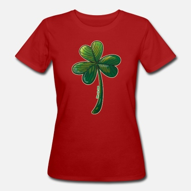All Saints Day Saint Paddy's Day Clover - Women's Organic T-Shirt