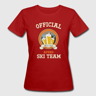 Official Apres-ski team - Vrouwen Bio-T-shirt