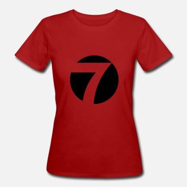 Logotipo de siete puntos de vista - Camiseta orgánica mujer d12ffb4b2