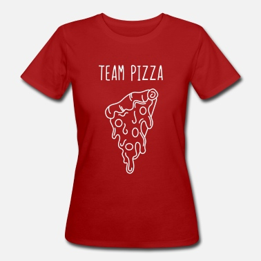 Pizza Team Pizza - Camiseta ecológica mujer