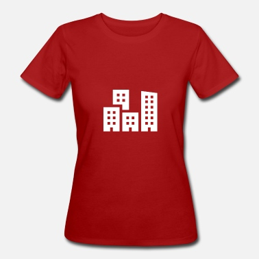 Cityscape Cityscape illustration - Women's Organic T-Shirt