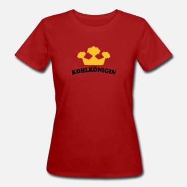 Bedrucken Alkohol t-shirt bedrucken mit grünkohl motiv kohlkönigin für  deine kohlfahrt - Frauen Bio ad0ddfd48f