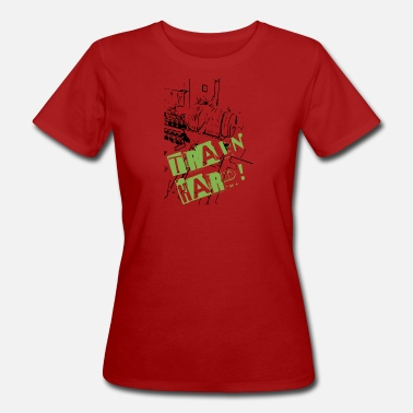 Train Hard Train Hard - Women's Organic T-Shirt