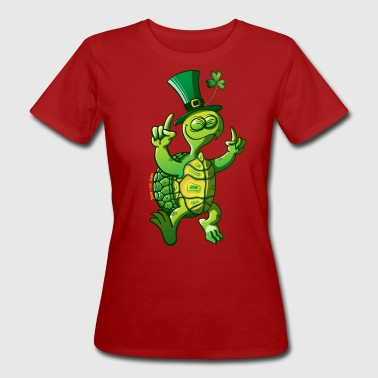 Saint Patrick's Day Turtle - Women's Organic T-shirt
