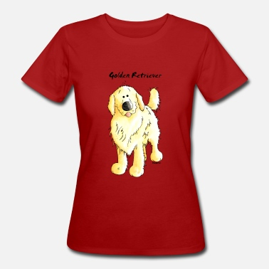 Retriever Mignon Golden Retriever - T-shirt bio Femme