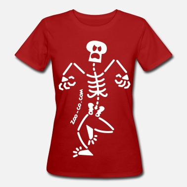 Angry People Angry Skeleton - Women's Organic T-Shirt
