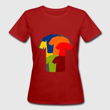 T-Shirts Collage - T-shirt bio Femme