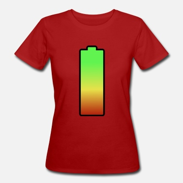 Battery battery - Frauen Bio-T-Shirt