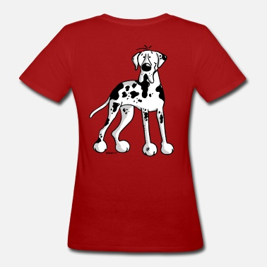 Deutsche Doggen Comic Deutsche Dogge - Hund - Doggen  - Frauen Bio-T-Shirt