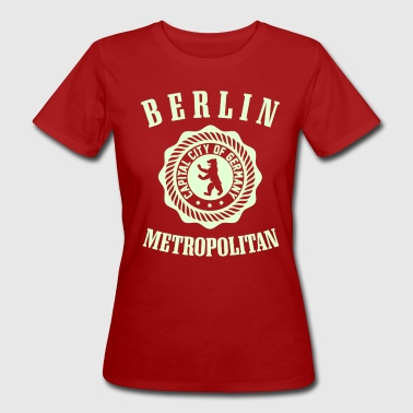 BERLIN METROPOLITAN CITY - Frauen Bio-T-Shirt