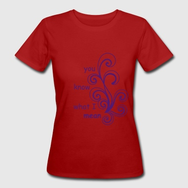 abstract form - Women's Organic T-shirt