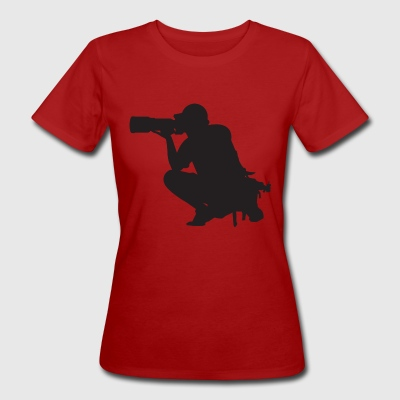 photographer - Women's Organic T-shirt