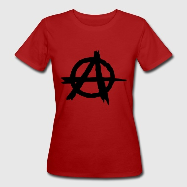 anarchia - T-shirt ecologica da donna