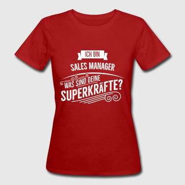 Sales Manager - Frauen Bio-T-Shirt