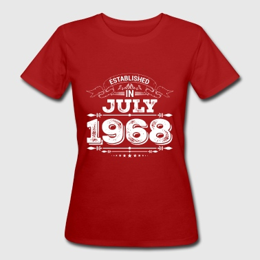 Established in July 1968 - Women's Organic T-shirt