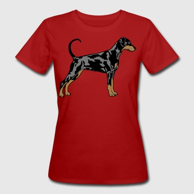 Dobermann Pinscher Dog - T-shirt ecologica da donna