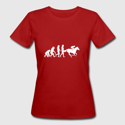 Jockey Evolution paardensport paardenraces - Vrouwen Bio-T-shirt