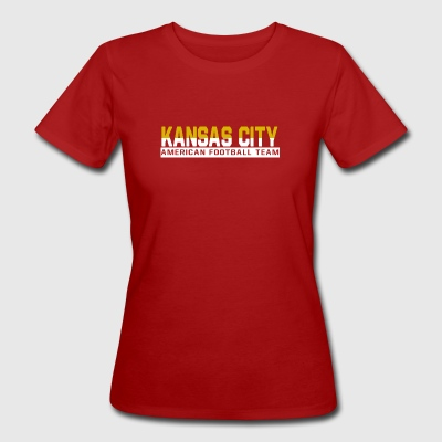 Kansas City Football - Frauen Bio-T-Shirt