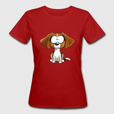 I Am Beagle Tricolore - T-shirt ecologica da donna
