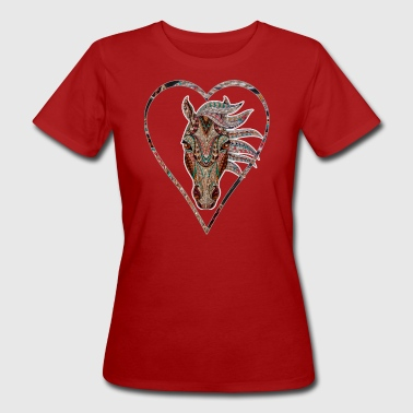 Noble horse head for horse lover Horse horse - Women's Organic T-shirt
