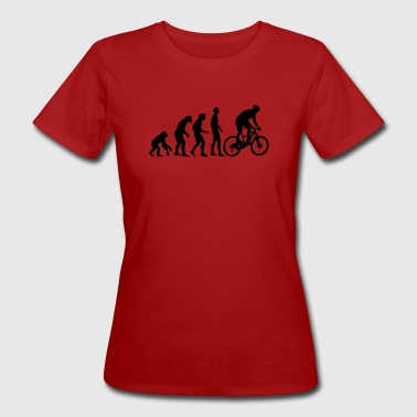 Human Evolution Mountain Bike - Ekologisk T-shirt dam