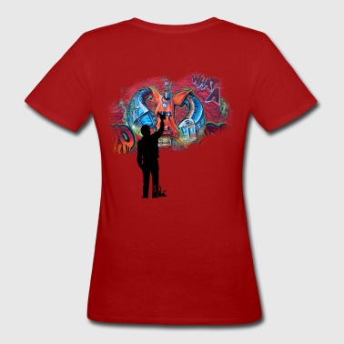 graffiti is art - Women's Organic T-shirt