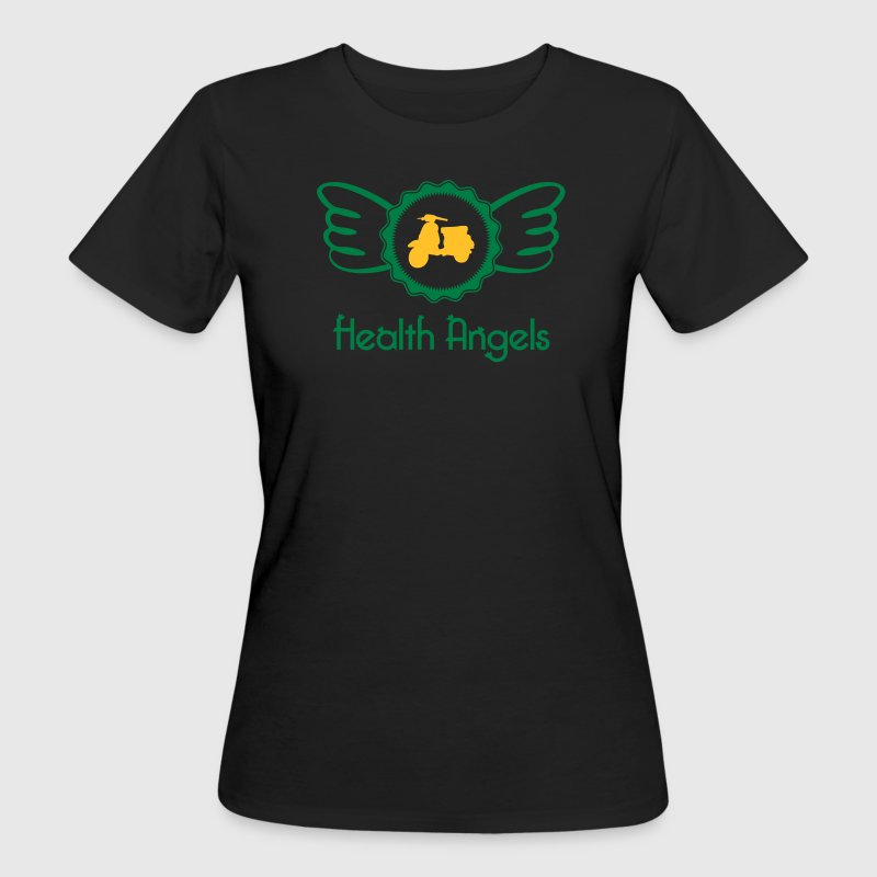 Health Angels - Frauen Bio-T-Shirt