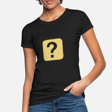 Question Mark Question Mark - Question - Women's Organic T-Shirt