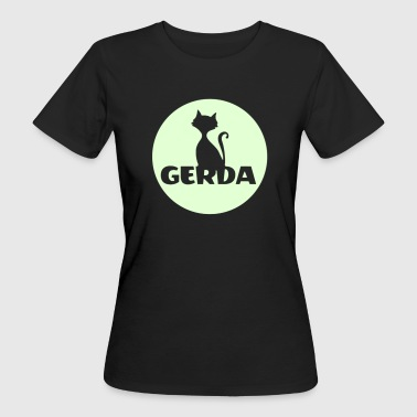 Gerda first name birthday gift. - T-shirt bio Femme