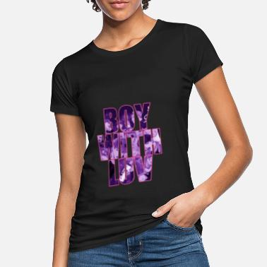 K-Pop Boy with Luv - Frauen Bio T-Shirt