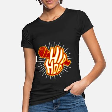 Hop hip hop - Women's Organic T-Shirt