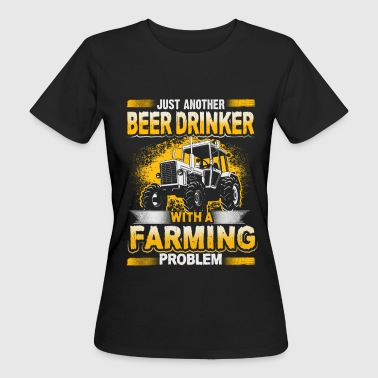 Beer Drinker - Farming Problem - EN - T-shirt ecologica da donna