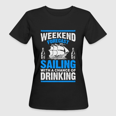 Sailing and Drinking - EN - Women's Organic T-shirt