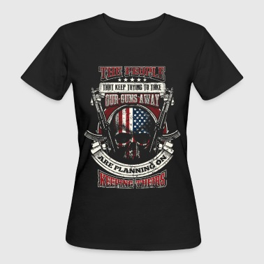 2nd Amendment - EN - Vrouwen Bio-T-shirt