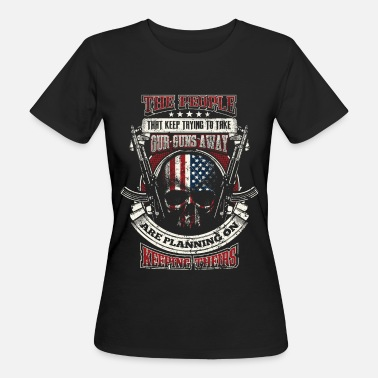 Amendment 2nd Amendment - EN - Women's Organic T-Shirt