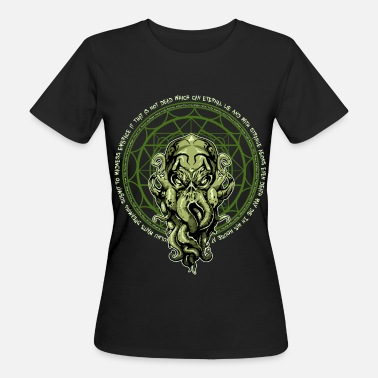 Lovecraft Cthulhu Lovecraft - Camiseta ecológica mujer