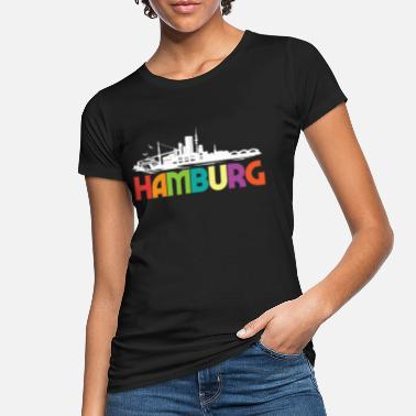 Hamburg Skyline Hamburg Skyline - Frauen Bio T-Shirt