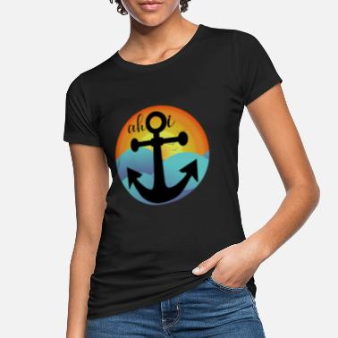 Anchorage Anchor anchorage harbor kinderen - Vrouwen bio T-shirt