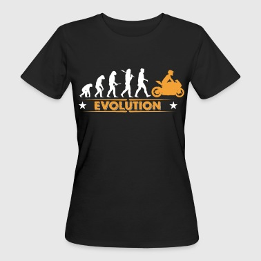 Biker - Evolution - T-shirt ecologica da donna