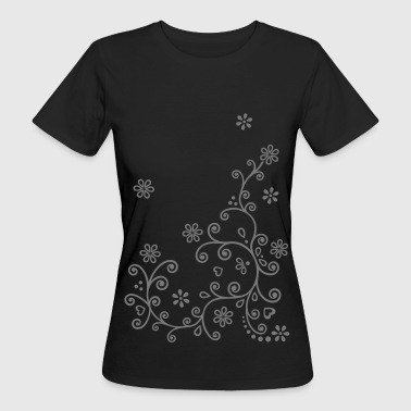 Flower Twine   flowers Flower twine flower power - Women's Organic T-Shirt
