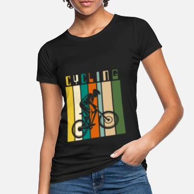 Ciclista Ciclista ciclista ciclista MTB - Camiseta orgánica mujer