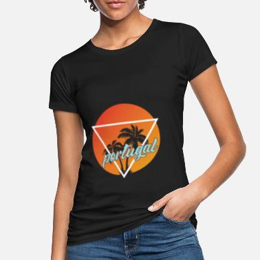Destination Portugal holiday and holiday destination - Women's Organic T-Shirt