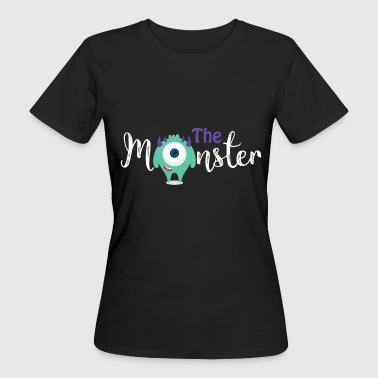 Eltern - Kind - Partnerlook - Monster Kind - Frauen Bio-T-Shirt